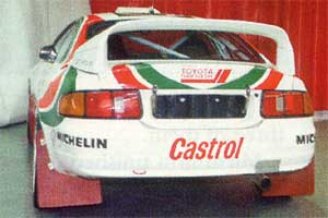 ST205 WRC rear view