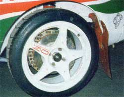 ST205 WRC wheels
