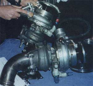 illegally modified turbocharger - naughty